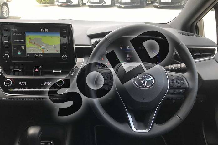 Image six of this 2020 Toyota Corolla Touring Sport 1.8 VVT-i Hybrid Design 5dr CVT in White at Listers Toyota Nuneaton