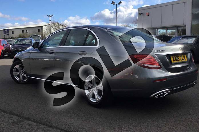 Image two of this 2016 Mercedes-Benz E Class Diesel Saloon E220d SE 4dr 9G-Tronic in Grey at Lexus Lincoln