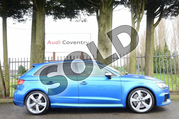 Audi RS3 RS 3 TFSI 400 Quattro 5dr S Tronic for sale at ...
