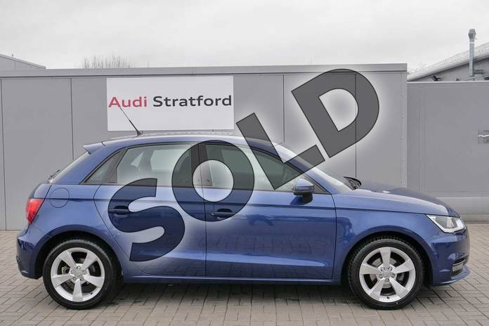 Image four of this 2017 Audi A1 Sportback 1.0 TFSI Sport 5dr in Scuba Blue Metallic at Stratford Audi