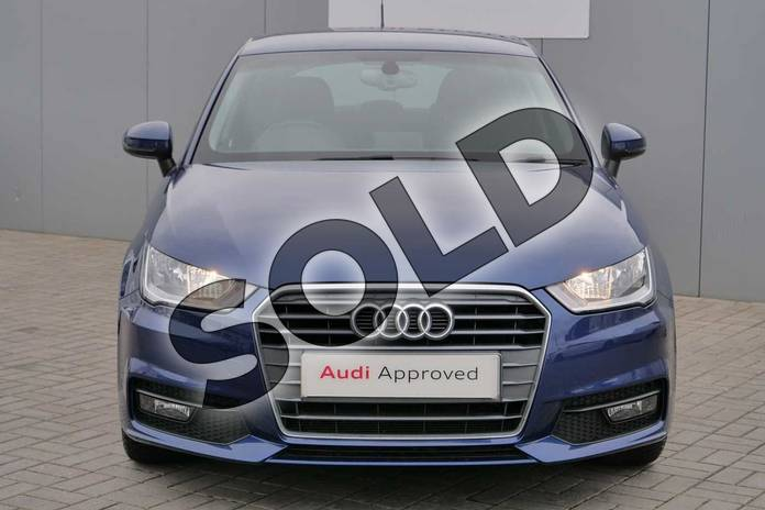 Image seven of this 2017 Audi A1 Sportback 1.0 TFSI Sport 5dr in Scuba Blue Metallic at Stratford Audi