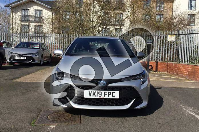 Image fifteen of this 2019 Toyota Corolla Hatchback 1.8 VVT-i Hybrid Icon Tech 5dr CVT in Silver at Listers Toyota Stratford-upon-Avon