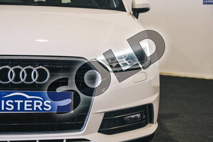 Image three of this 2016 Audi A1 Diesel Sportback 1.6 TDI S Line 5dr in Metallic - Glacier white at Listers U Stratford-upon-Avon