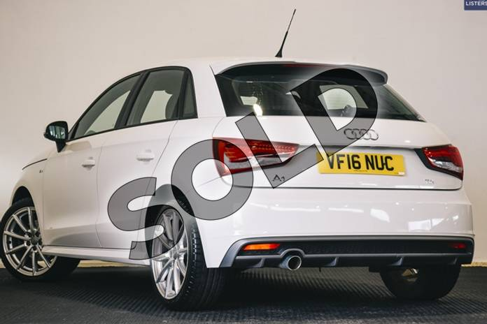 Image six of this 2016 Audi A1 Diesel Sportback 1.6 TDI S Line 5dr in Metallic - Glacier white at Listers U Stratford-upon-Avon