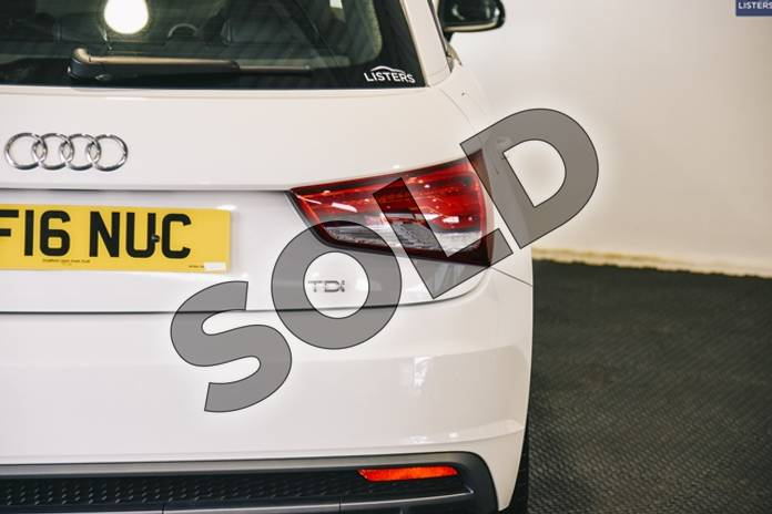 Image eight of this 2016 Audi A1 Diesel Sportback 1.6 TDI S Line 5dr in Metallic - Glacier white at Listers U Stratford-upon-Avon