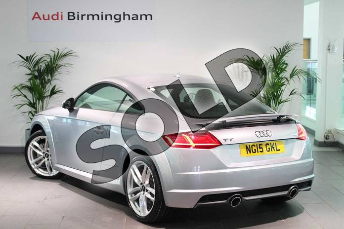 Image three of this 2015 Audi TT Diesel Coupe 2.0 TDI Ultra S Line 2dr in Floret Silver, metallic at Birmingham Audi