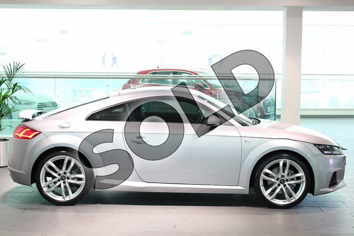 Image four of this 2015 Audi TT Diesel Coupe 2.0 TDI Ultra S Line 2dr in Floret Silver, metallic at Birmingham Audi