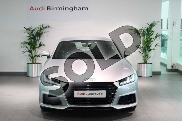 Image seven of this 2015 Audi TT Diesel Coupe 2.0 TDI Ultra S Line 2dr in Floret Silver, metallic at Birmingham Audi