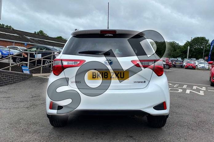Image nineteen of this 2018 Toyota Yaris Hatchback 1.5 Hybrid Excel 5dr CVT in White at Listers Toyota Coventry