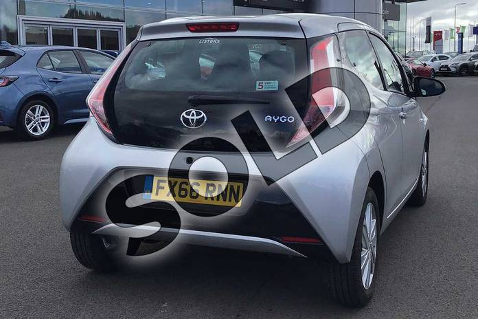 Image two of this 2016 Toyota AYGO Hatchback 1.0 VVT-i X-Pression 5dr x-shift in Silver at Listers Toyota Lincoln