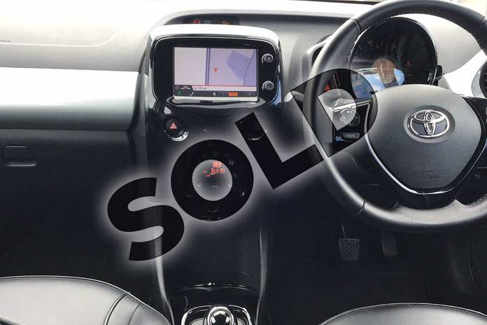 Image five of this 2016 Toyota AYGO Hatchback 1.0 VVT-i X-Pression 5dr x-shift in Silver at Listers Toyota Lincoln