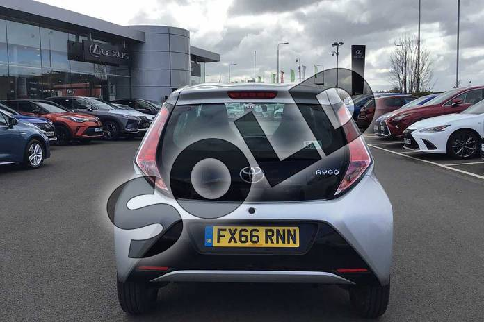 Image nineteen of this 2016 Toyota AYGO Hatchback 1.0 VVT-i X-Pression 5dr x-shift in Silver at Listers Toyota Lincoln