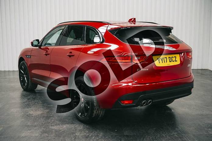 Image two of this 2017 Jaguar F-PACE Diesel Estate 2.0d R-Sport 5dr Auto AWD in Firenze Red at Listers Jaguar Solihull