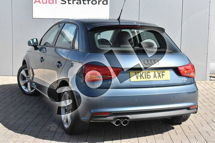 Image three of this 2016 Audi A1 Sportback 1.4 TFSI Sport 5dr in Utopia Blue, metallic at Stratford Audi