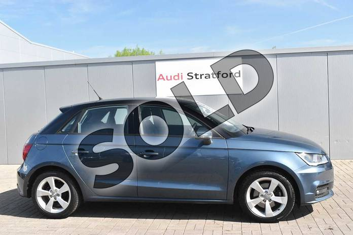 Image four of this 2016 Audi A1 Sportback 1.4 TFSI Sport 5dr in Utopia Blue, metallic at Stratford Audi