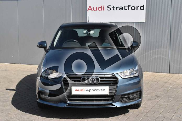 Image seven of this 2016 Audi A1 Sportback 1.4 TFSI Sport 5dr in Utopia Blue, metallic at Stratford Audi