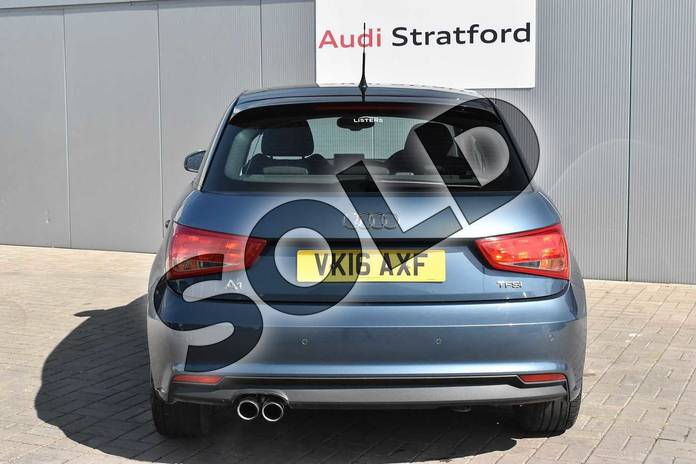 Image twelve of this 2016 Audi A1 Sportback 1.4 TFSI Sport 5dr in Utopia Blue, metallic at Stratford Audi