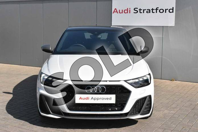 Image eight of this 2020 Audi A1 Sportback 40 TFSI S Line Competition 5dr S Tronic in Glacier White Metallic at Stratford Audi