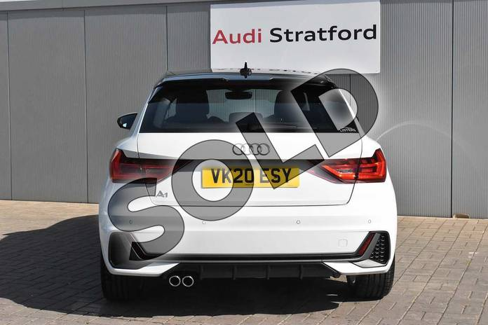 Image thirteen of this 2020 Audi A1 Sportback 40 TFSI S Line Competition 5dr S Tronic in Glacier White Metallic at Stratford Audi