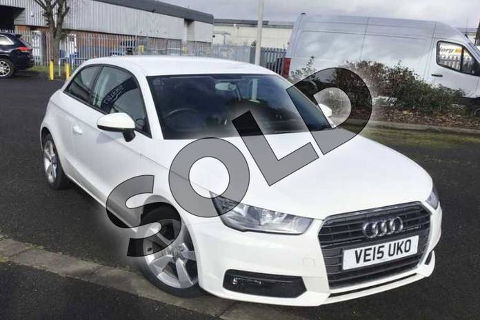 Picture of Audi A1 1.4 TFSI Sport 3dr in Shell White