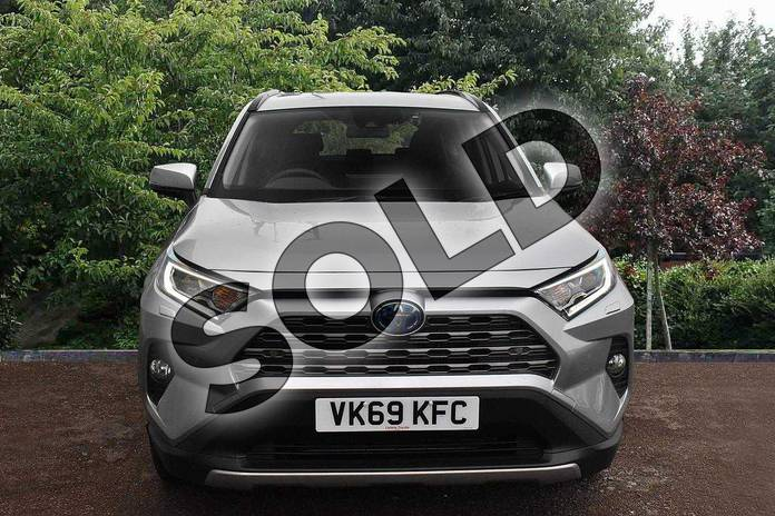 Image seven of this 2019 Toyota RAV4 Estate 2.5 VVT-i Hybrid Excel 5dr CVT in Silver at Listers Toyota Stratford-upon-Avon