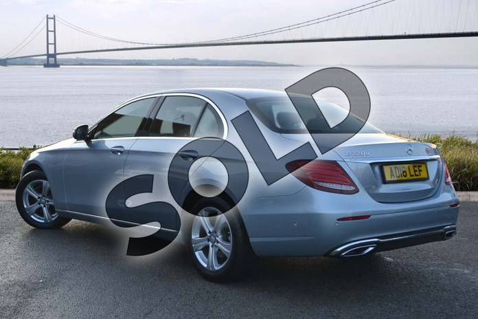 Image two of this 2016 Mercedes-Benz E Class Diesel Saloon E220d SE 4dr 9G-Tronic in Diamond Silver Metallic at Mercedes-Benz of Hull