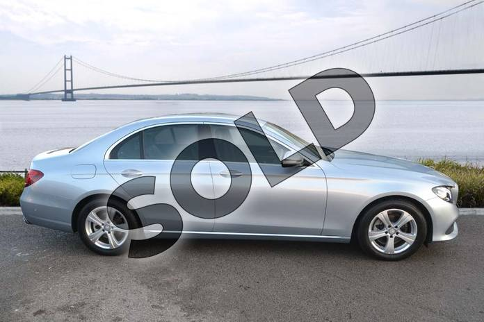 Image four of this 2016 Mercedes-Benz E Class Diesel Saloon E220d SE 4dr 9G-Tronic in Diamond Silver Metallic at Mercedes-Benz of Hull