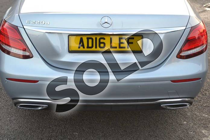Image thirty-two of this 2016 Mercedes-Benz E Class Diesel Saloon E220d SE 4dr 9G-Tronic in Diamond Silver Metallic at Mercedes-Benz of Hull
