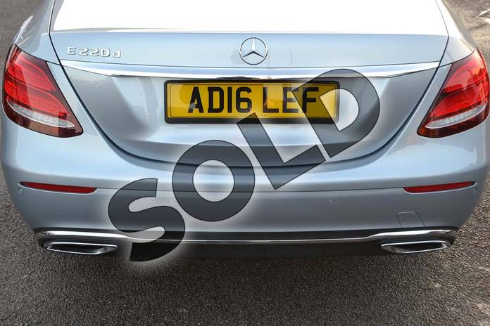 Image thirty-three of this 2016 Mercedes-Benz E Class Diesel Saloon E220d SE 4dr 9G-Tronic in Diamond Silver Metallic at Mercedes-Benz of Hull
