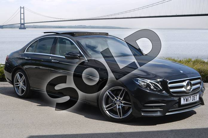 Picture of Mercedes-Benz E Class E220d AMG Line Premium 4dr 9G-Tronic in Obsidian Black Metallic