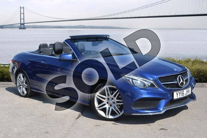 Picture of Mercedes-Benz E Class E220d AMG Line Edition Premium 2dr 7G-Tronic in Brilliant Blue metallic