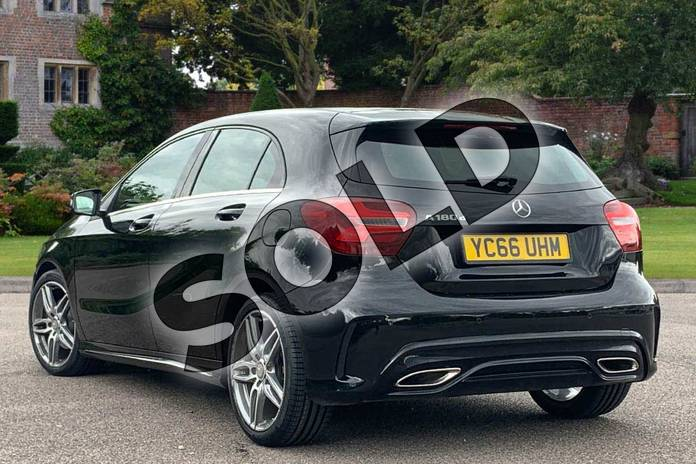 Image two of this 2016 Mercedes-Benz A Class Diesel Hatchback A180d AMG Line Premium 5dr Auto in Cosmos Black at Mercedes-Benz of Lincoln