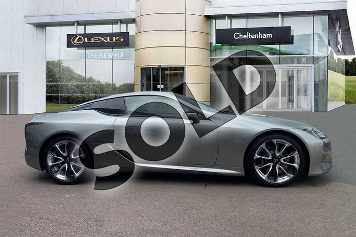 Image four of this 2020 Lexus LC Coupe 500h 3.5 Sport+ 2dr Auto in Silver at Lexus Cheltenham