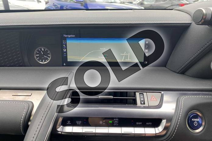 Image seven of this 2020 Lexus LC Coupe 500h 3.5 Sport+ 2dr Auto in Silver at Lexus Cheltenham