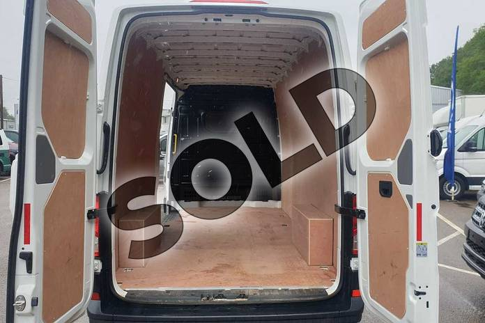 Image two of this 2020 Volkswagen Crafter CR35 LWB Diesel 2.0 TDI 102PS Startline High Roof Van in White at Listers Volkswagen Van Centre Coventry