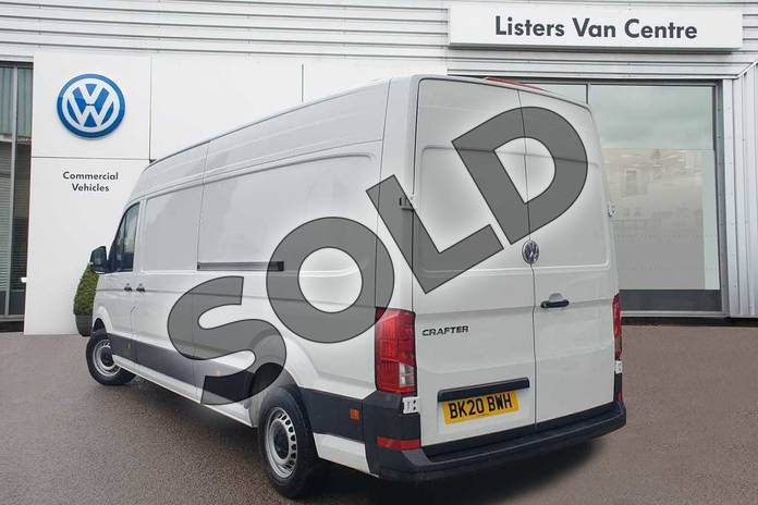 Image three of this 2020 Volkswagen Crafter CR35 LWB Diesel 2.0 TDI 102PS Startline High Roof Van in White at Listers Volkswagen Van Centre Coventry