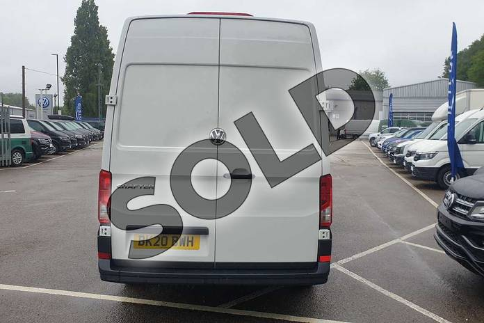 Image eight of this 2020 Volkswagen Crafter CR35 LWB Diesel 2.0 TDI 102PS Startline High Roof Van in White at Listers Volkswagen Van Centre Coventry