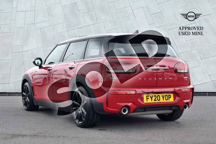 Image two of this 2020 MINI Clubman Estate 2.0 John Cooper Works ALL4 6dr Auto in Chili Red at Listers Boston (MINI)