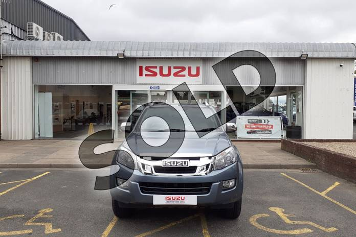 Picture of Isuzu D-MAX 2.5TD Utah Double Cab 4x4 in Metallic - Mineral grey