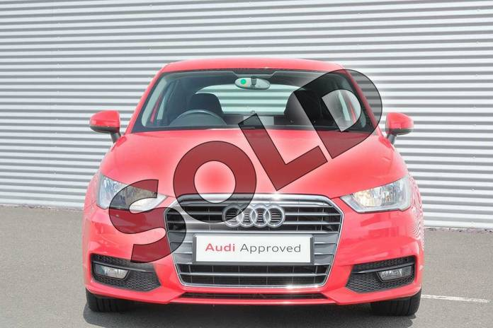 Image seven of this 2015 Audi A1 Hatchback 1.4 TFSI Sport 3dr in Misano Red, pearl effect at Coventry Audi