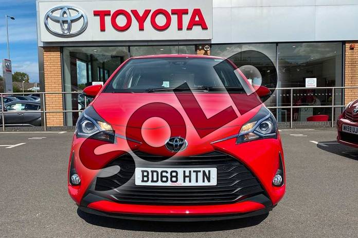 Image fifteen of this 2018 Toyota Yaris Hatchback 1.5 VVT-i Icon Tech 5dr in Red at Listers Toyota Coventry