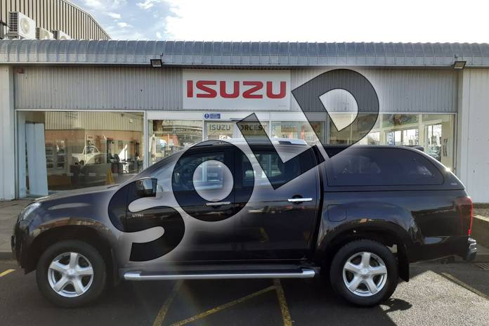 Image six of this 2017 Isuzu D-MAX Diesel 2.5TD Utah Double Cab 4x4 in Black at Listers Isuzu Worcester