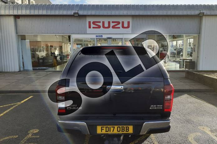 Image nine of this 2017 Isuzu D-MAX Diesel 2.5TD Utah Double Cab 4x4 in Black at Listers Isuzu Worcester