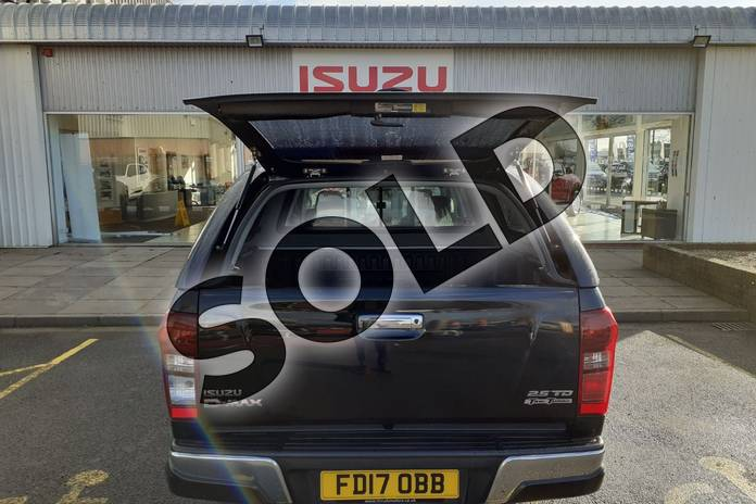 Image ten of this 2017 Isuzu D-MAX Diesel 2.5TD Utah Double Cab 4x4 in Black at Listers Isuzu Worcester