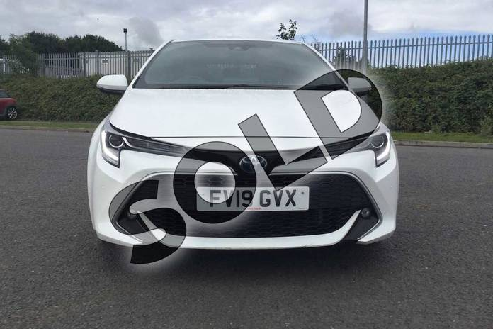 Image fifteen of this 2019 Toyota Corolla Hatchback 1.8 VVT-i Hybrid Excel 5dr CVT in Pure White at Listers Toyota Grantham
