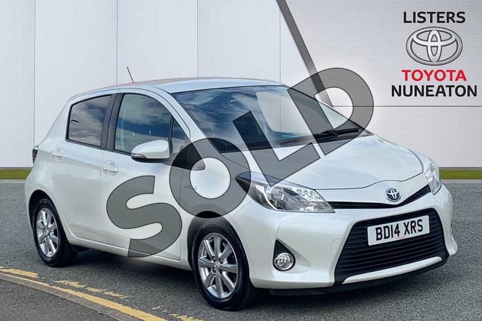 Picture of Toyota Yaris 1.5 VVT-i Hybrid Icon+ 5dr CVT in White