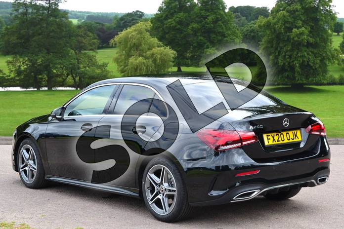 Image two of this 2020 Mercedes-Benz A Class Saloon A200 AMG Line Executive 4dr in Cosmos Black Metallic at Mercedes-Benz of Grimsby