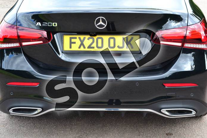Image eighteen of this 2020 Mercedes-Benz A Class Saloon A200 AMG Line Executive 4dr in Cosmos Black Metallic at Mercedes-Benz of Grimsby