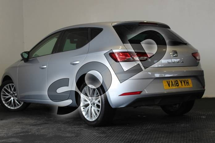 Image ten of this 2018 SEAT Leon Diesel Hatchback 1.6 TDI SE Dynamic Technology 5dr in Metallic - Ice silver at Listers U Stratford-upon-Avon