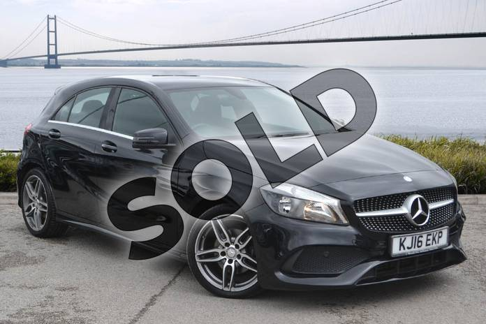 Picture of Mercedes-Benz A Class A160 AMG Line 5dr in Cosmos Black